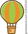 気球(緑) 22810542