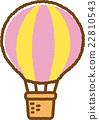 氣球 汽球 馬車 22810543