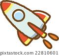 火箭 材料 素材 22810601