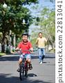 Enjoying cycling 22813041