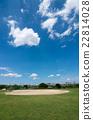 baseball field, summer, arakawa riverbed 22814028
