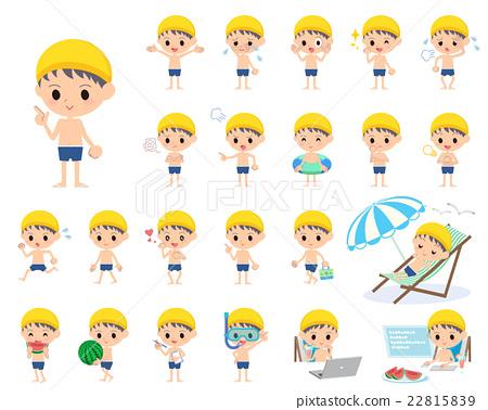 泳衣 泳裝 男式泳褲 22815839