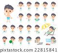 泳衣 泳裝 男式泳褲 22815841