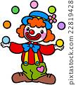 小丑 滑稽 扮小丑 22819428