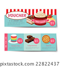 bakery voucher discount template design 22822437