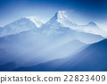 Annapurna mountains 22823409