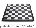 Empty chessboard 22824476