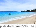 座間味海灘 海灘 海 22828143