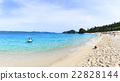 座間味海灘 海灘 海 22828144