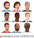 Different male avatars 22830125
