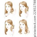 捲髮 女性 女 22832788