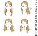 頭髮麻煩靜電乾燥分叉 22832791