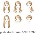 發式 髮型 長頭髮 22832792