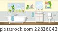 Illustration of a bathroom 22836043