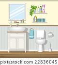 Illustration of a bathroom 22836045