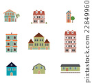 Various types of buildings 22849960