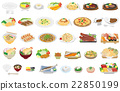 food, foods, vector 22850199