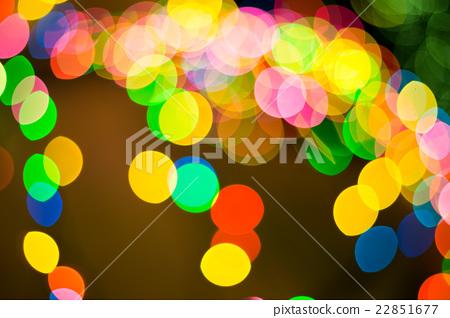 Defocused bokeh lights 22851677