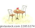 咖啡廳桌集 22853274