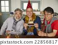 男人 生日蛋糕 生日 22856817