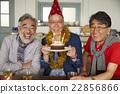 男人 生日蛋糕 生日 22856866