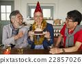 男人 生日蛋糕 生日 22857026