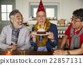 男人 生日蛋糕 生日 22857131