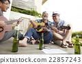 男人 吉他 朋友 22857243
