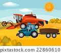 harvester, crop, vector 22860610