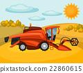 harvester, crop, vector 22860615