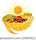 harvester, harvesting, harvest 22860621