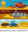harvester, harvesting, combine 22860635