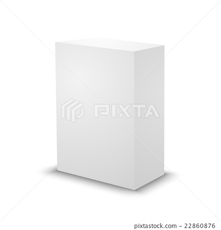 Blank white prism 3d box template stock illustration 22860876 blank white prism 3d box template maxwellsz