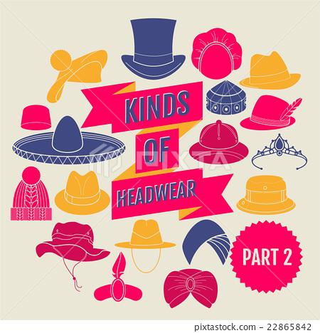 Kinds of headwear. Part 2 22865842