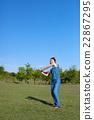 打棒球的女人 22867295