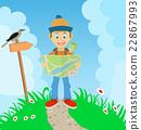 徒步旅行 远足 徒步旅行者 22867993