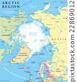 อาร์กติก,แผนที่,ขั้วโลก 22869012