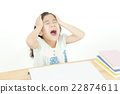 Girl who scolds Screaming girls despair girls 22874611