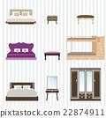 Bedroom furniture design. 22874911