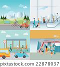 Info graphic of Transportation. 22878037
