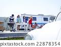 父母和小孩 露營車 露營者 22878354