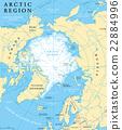 อาร์กติก,แผนที่,ขั้วโลก 22884996