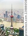 Oriental Pearl Tower in Shanghai 22886058