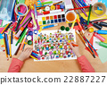 many people team group portrait child drawing, 22887227