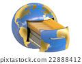 globe, earth, storage 22888412