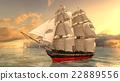 A sail boat 22889556