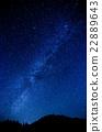 starry sky, tian shan, the milky way 22889643
