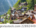 Hallstat Village Austria 22892449