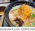 japanese noodle (focus fried onion) 22894169