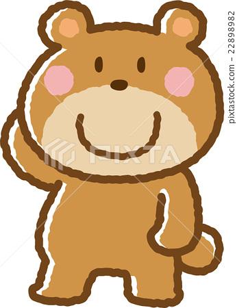 熊 動物 原料 22898982